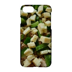 Cheese And Peppers Green Yellow Funny Design Apple Iphone 7 Hardshell Case by yoursparklingshop