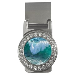 Awesome Wave Ocean Photography Money Clips (cz)  by yoursparklingshop