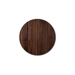Rustic Dark Brown Wood Wooden Fence Background Elegant Natural Country Style Golf Ball Marker (4 Pack) by yoursparklingshop