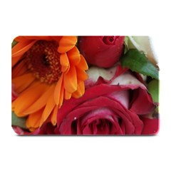 Floral Photography Orange Red Rose Daisy Elegant Flowers Bouquet Plate Mats by yoursparklingshop