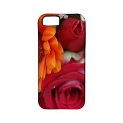 Floral Photography Orange Red Rose Daisy Elegant Flowers Bouquet Apple Iphone 5 Classic Hardshell Case (pc+silicone) by yoursparklingshop