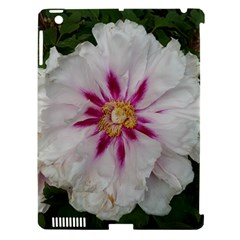 Floral Soft Pink Flower Photography Peony Rose Apple Ipad 3/4 Hardshell Case (compatible With Smart Cover) by yoursparklingshop