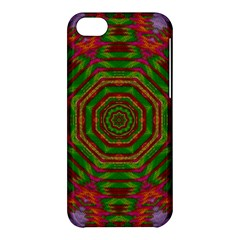 Feathers And Gold In The Sea Breeze For Peace Apple Iphone 5c Hardshell Case by pepitasart