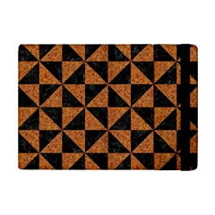 Triangle1 Black Marble & Teal Leather Ipad Mini 2 Flip Cases by trendistuff
