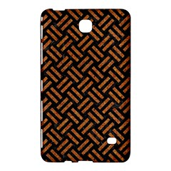 Woven2 Black Marble & Teal Leather (r) Samsung Galaxy Tab 4 (7 ) Hardshell Case  by trendistuff