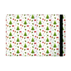 Christmas Pattern Apple Ipad Mini Flip Case by Valentinaart