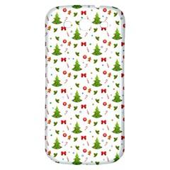 Christmas Pattern Samsung Galaxy S3 S Iii Classic Hardshell Back Case by Valentinaart