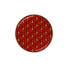 Christmas Pattern Hat Clip Ball Marker by Valentinaart