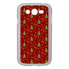 Christmas Pattern Samsung Galaxy Grand Duos I9082 Case (white) by Valentinaart
