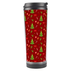 Christmas Pattern Travel Tumbler by Valentinaart
