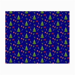 Christmas Pattern Small Glasses Cloth by Valentinaart