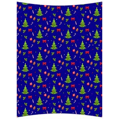 Christmas Pattern Back Support Cushion by Valentinaart