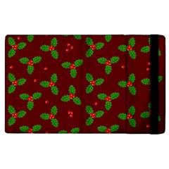 Christmas Pattern Apple Ipad 2 Flip Case by Valentinaart