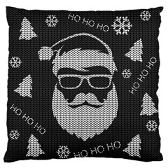 Ugly Christmas Sweater Large Flano Cushion Case (one Side) by Valentinaart