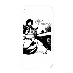 Vintage Thanksgiving Apple Iphone 4 Case (white) by Valentinaart