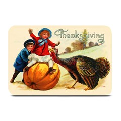 Vintage Thanksgiving Plate Mats by Valentinaart