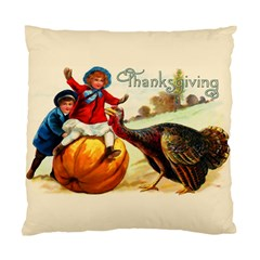Vintage Thanksgiving Standard Cushion Case (one Side) by Valentinaart