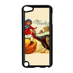 Vintage Thanksgiving Apple Ipod Touch 5 Case (black) by Valentinaart