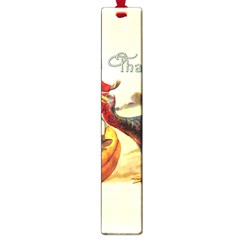Vintage Thanksgiving Large Book Marks by Valentinaart