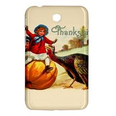 Vintage Thanksgiving Samsung Galaxy Tab 3 (7 ) P3200 Hardshell Case  by Valentinaart