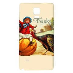Vintage Thanksgiving Galaxy Note 4 Back Case by Valentinaart