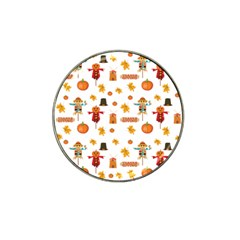 Thanksgiving Hat Clip Ball Marker by Valentinaart