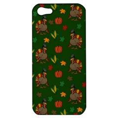 Thanksgiving Turkey  Apple Iphone 5 Hardshell Case by Valentinaart