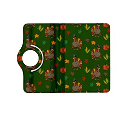 Thanksgiving Turkey  Kindle Fire Hd (2013) Flip 360 Case by Valentinaart