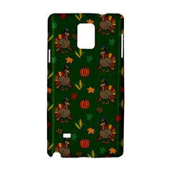 Thanksgiving Turkey  Samsung Galaxy Note 4 Hardshell Case by Valentinaart