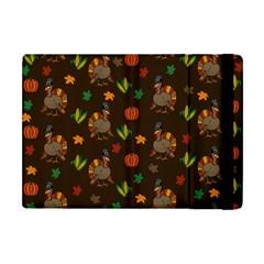 Thanksgiving Turkey  Apple Ipad Mini Flip Case by Valentinaart