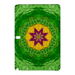 Feathers In The Sunshine Mandala Samsung Galaxy Tab Pro 12 2 Hardshell Case by pepitasart