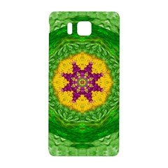 Feathers In The Sunshine Mandala Samsung Galaxy Alpha Hardshell Back Case by pepitasart