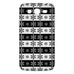 Snowflakes   Christmas Pattern Samsung Galaxy Mega 5 8 I9152 Hardshell Case  by Valentinaart