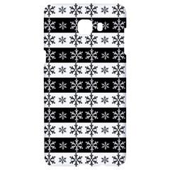 Snowflakes   Christmas Pattern Samsung C9 Pro Hardshell Case  by Valentinaart