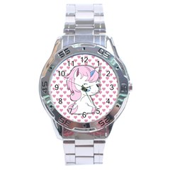 Baby Unicorn Stainless Steel Analogue Watch by Valentinaart
