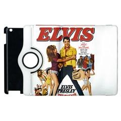 Elvis Presley Apple Ipad 3/4 Flip 360 Case by Valentinaart