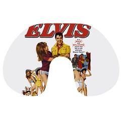 Elvis Presley Travel Neck Pillows by Valentinaart