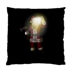 Santa Killer Standard Cushion Case (two Sides) by Valentinaart