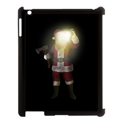 Santa Killer Apple Ipad 3/4 Case (black) by Valentinaart