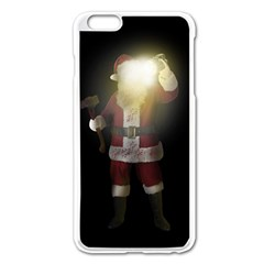 Santa Killer Apple Iphone 6 Plus/6s Plus Enamel White Case by Valentinaart
