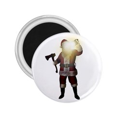 Santa Killer 2 25  Magnets by Valentinaart