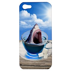 Cup Of Tea Apple Iphone 5 Hardshell Case by Valentinaart
