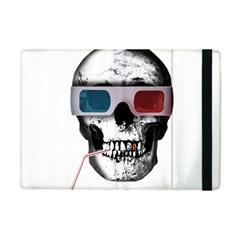 Cinema Skull Apple Ipad Mini Flip Case by Valentinaart