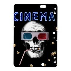 Cinema Skull Kindle Fire Hdx 8 9  Hardshell Case by Valentinaart