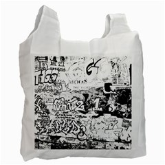 Graffiti Recycle Bag (one Side) by Valentinaart