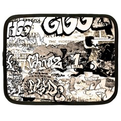 Graffiti Netbook Case (large) by Valentinaart