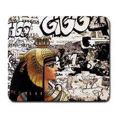 Cleopatra Large Mousepads by Valentinaart