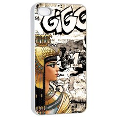 Cleopatra Apple Iphone 4/4s Seamless Case (white) by Valentinaart