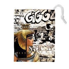 Cleopatra Drawstring Pouches (extra Large) by Valentinaart