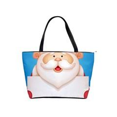 Christmas Santa Claus Letter Shoulder Handbags by Alisyart